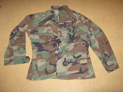 Original US Feldhemd Gr. medium regular  woodland Army Air Force Hemd Jacke BDU