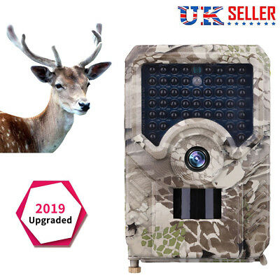 Waterproof 12MP Hunting Camera 1080P DVR Trail Scouting IR Night Vision Wildlife