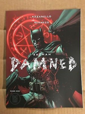 Batman Damned #1 First Print Dc Comics (2018) Jim Lee Variant Cover Joker Harley