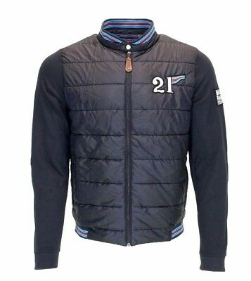 Sweat Gr Dunkelblau Martini Mix Racing Porsche Jacke Herren 3jRq45LcA