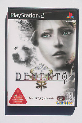 DEMENTO Haunting Ground PS2 Japan NTSC in Like New and Complete Condition