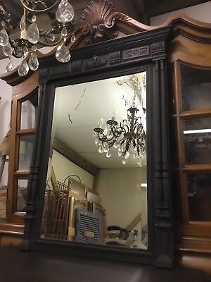 Stunning Large French Antique Henri Style Mirror - Free Delivery
