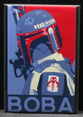 "Boba Fett 2"" X 3"" Fridge Magnet. Star Wars"
