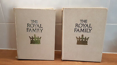The Royal Family, An Orbis Publication, Volume 1 & 2 Complete In Binders