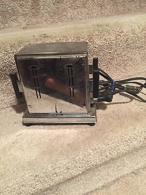 "Vintage 2 Slice ""Flopper"" Style Electric Toaster Empire"