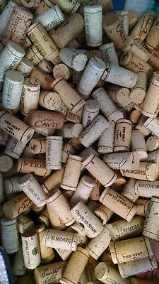 625 Used Wine Corks - Various Vintners - No Synthetic