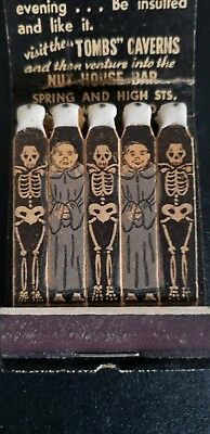Feature Matchbook - Visit the Tombs
