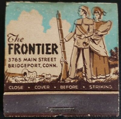 21-strike Feature Matchbook - The Frontier