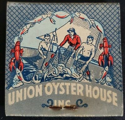 Union Oyster House Matchbook