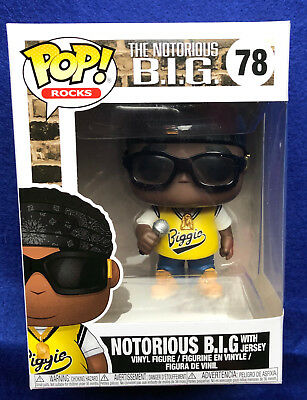 NOTORIOUS B.I.G. WITH JERSEY -  Funko Pop! Rocks #78 IN STOCK SHIPS FAST
