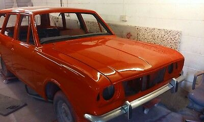 Ford cortina mk2 estate project rhd