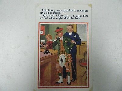 WW2 Military Humor Postcard Dated 1945