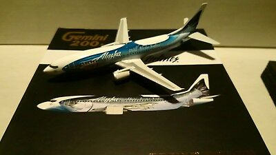 Gemini jets 1:200  : très rare ALASKA AIRLINES  BOEING  737-400 - Aircraft model
