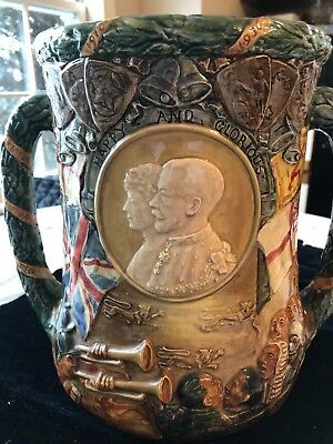Royal Doulton  LE Loving Cup King George V and Queen Mary - Silver Jubilee 1935