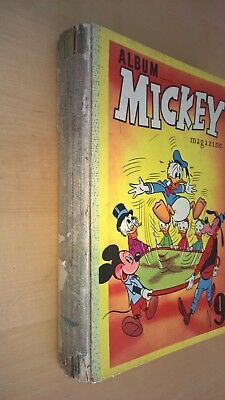 ALBUM LE JOURNAL DE MICKEY N° 9.209  à 234.1956