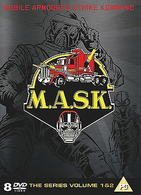 M.a.s.k. Complete Collection   8 Discs     (Dvd)     **new & Sealed**