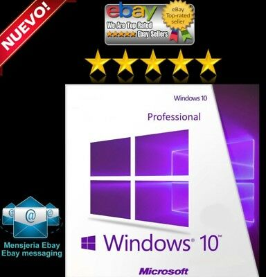 Win 10 Pro 32  64 Bit Multi-Lingua Key License