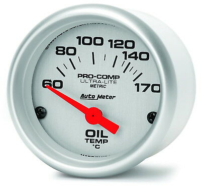 AutoMeter 4348-M Ultra-Lite (R) Gauge Oil Temperature