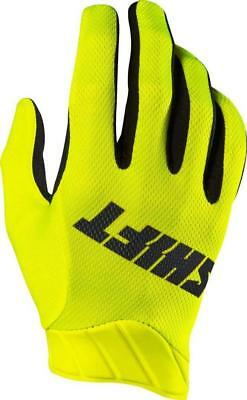 Shift 3lack Air Glove's Flo Yellow (Size: MD) MOTOCROSS CLEARANCE!!
