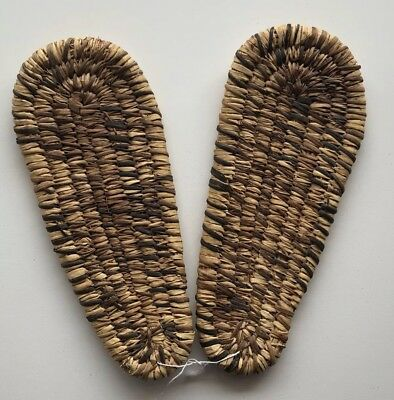 Old Tohono O'odham / Papago Basketry Sandals