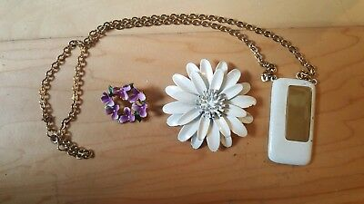 Mixed  Lot  of Vintage Costume Jewelry3 pc