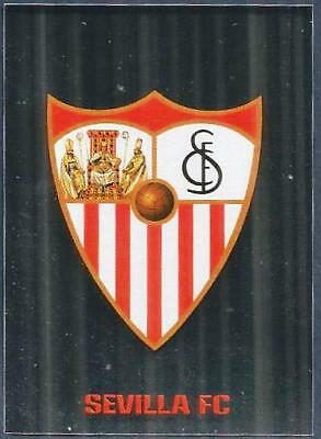 Topps Champions League-2017-18- #421-Sevilla Team Badge-Silver Foil