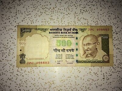 India Rupee 500 Circulated