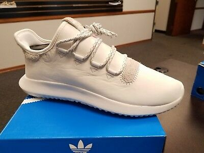 Brand New ADIDAS Mens Originals Tubular Shadow BB8821 Crystal White Yeezy 350