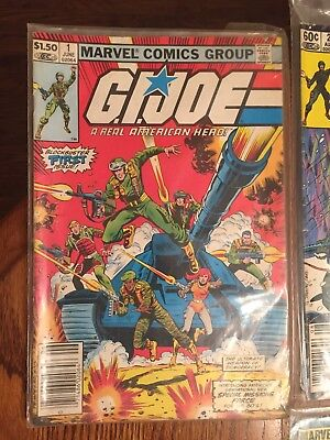 G.I. Joe, A Real American Hero Lot Of 11 Comics