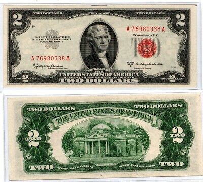 1953-C Two Dollar United States Note