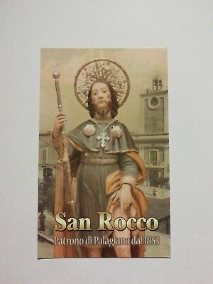 Santino HOLY CARD San Rocco di Montpellier - Palagiano (TA)