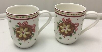 Villeroy & Boch WINTER BAKERY DELIGHT mugs - 2 pieces - NEW NWL 1st