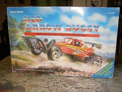 Vintage Radio Shack Red Arrow Buggy Rc {{{ Excellent }}} Works Great!!!!
