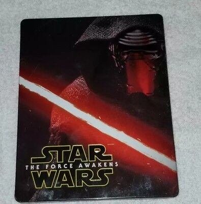 Star Wars: The Force Awakens Steelbook (Blu-ray and case only) LOW OPENING BID