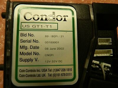 american changer electronic coin acceptor - programmable