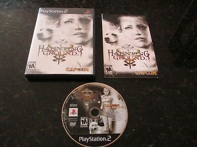 Haunting Ground PlayStation 2 PS2 Rare CIB Complete One Cent Rare Look!