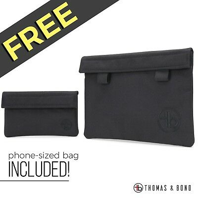 Smell Proof Bags - 2 for 1 low price; Holds your stash and hides strong smells
