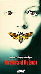 The Silence Of The Lambs Vhs Jodie Foster Anthony Hopkins Scott Glenn Cannibal