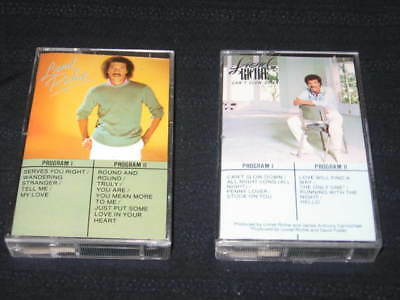 Lionel Richie Can't Slow Down Original Lot Of 2 Cassette Tapes Made In Canada
