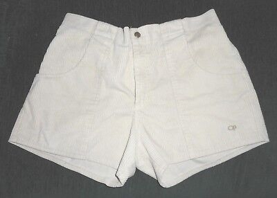 Vintage Ocean Pacific OP Corduroy Shorts Size  38 Cream - Ivory - Off White