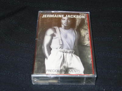 Jermaine Jackson Precious Moments Cassette Tape Made In Canada Sealed New Oop