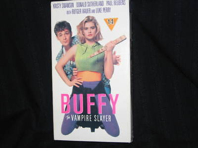 Buffy The Vampire Slayer Rutger Hauer Kristy Swanson Luke Perry Vhs Out Of Print