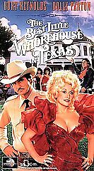 The Best Little Whorehouse In Texas Vhs Burt Reynolds Dolly Parton Deluise Nabor