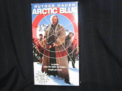 Rutger Hauer Arctic Blue Free Demo Vhs 3 Photos Lot Dylan Walsh Played Once Oop