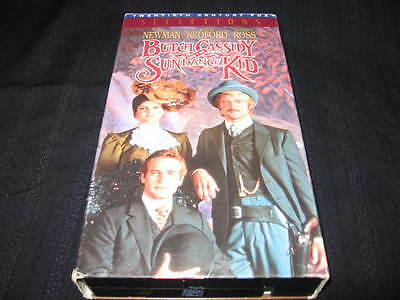 Butch And The Sundance Kid Vhs Paul Newman Robert Redford Katherine Ross Oop