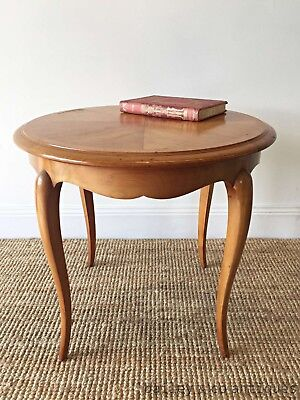 Vintage French Coffee Table Louis Style Cherrywood - RL105