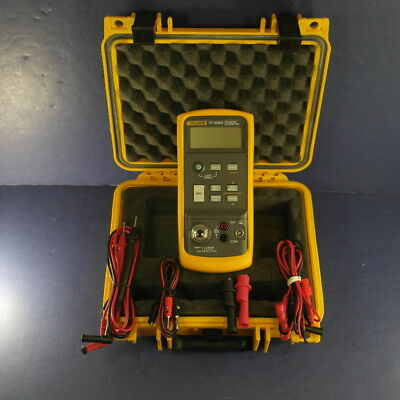 Fluke 717 1000G Pressure Calibrator, Very Good, Screen Protector, Hard Case