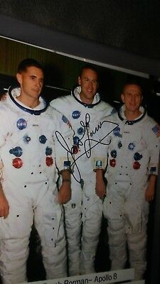 Apollo 13 Astronaut Jim Lovell Autograph Signed 8x10