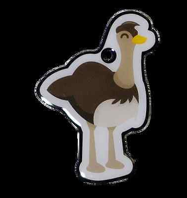 Elly the GeoTrack Emu - Trackable for Geocaching