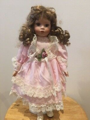Porcelain Doll Pretty in Pink